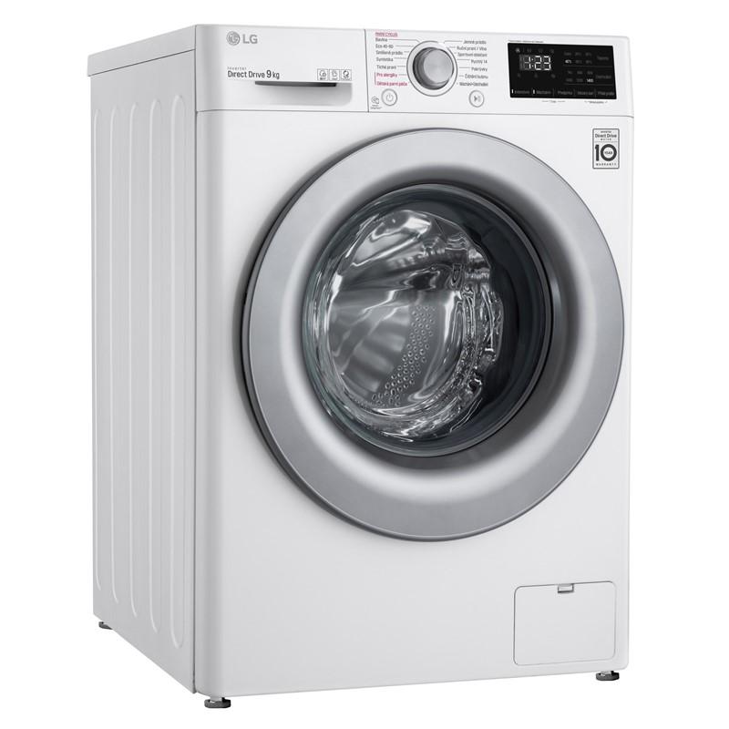 Pračka LG Vivace F49V3VW4W bílá nepoužito-rozbaleno