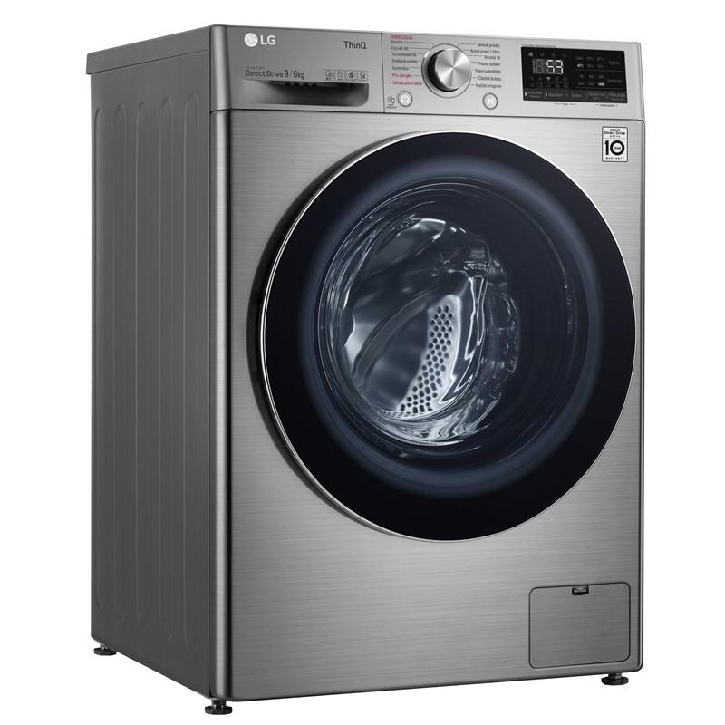 Pračka se sušičkou LG Vivace F4DV709H2TE stříbrná nepoužito-rozbaleno