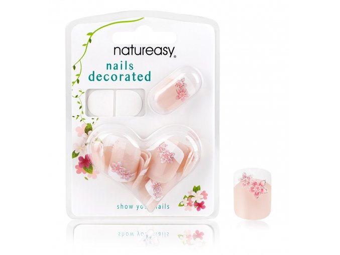 Nalepovací nehty NATUREASY se samolepícími papírky č. 6