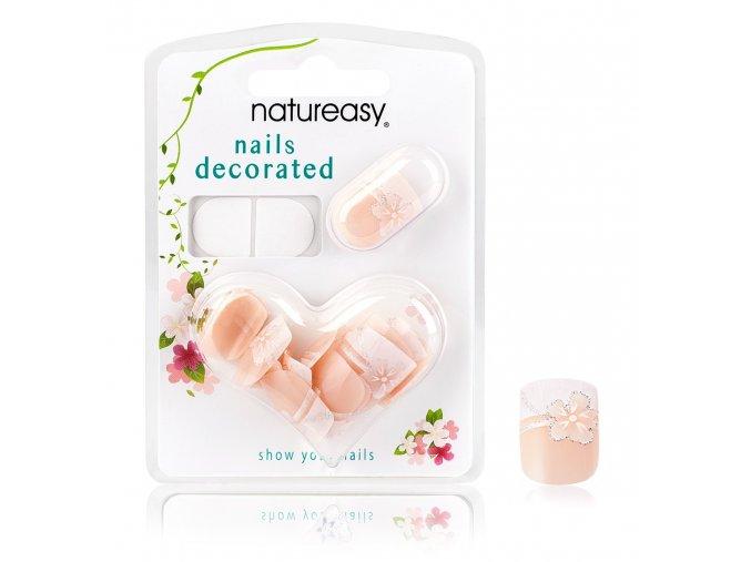 Nalepovací nehty NATUREASY se samolepícími papírky č. 9