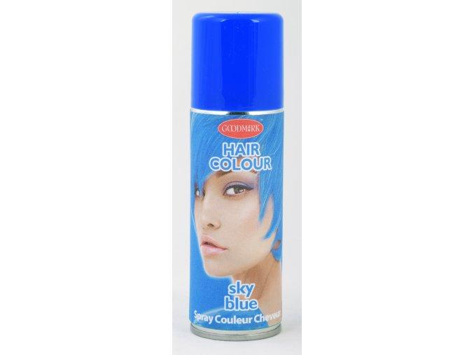 Sprej na vlasy modrá