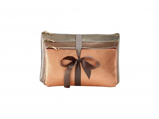 Sada kosmetických tašek Bronze 90279