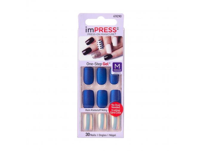 BIPAM013CAM Kiss ImpressPressOnManicure Package Front 731509692907