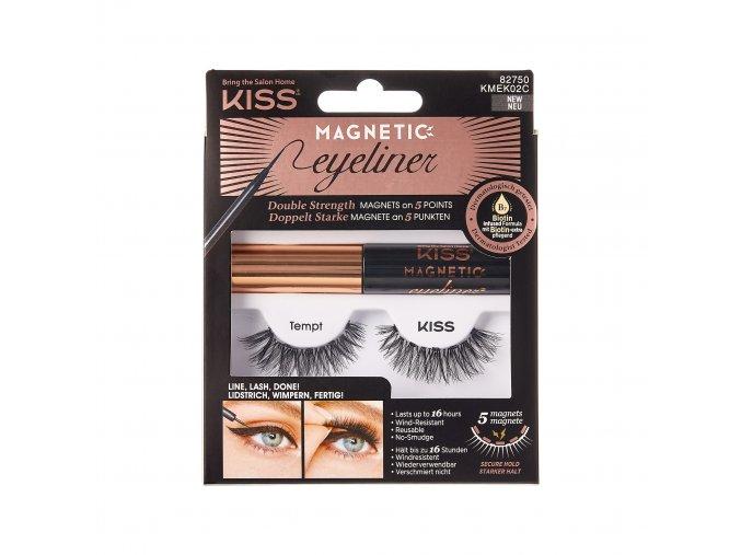 RS125356 Kiss MagneticEyeliner KMEK02C Package Front 731509827507 Mar.02.2020 lpr
