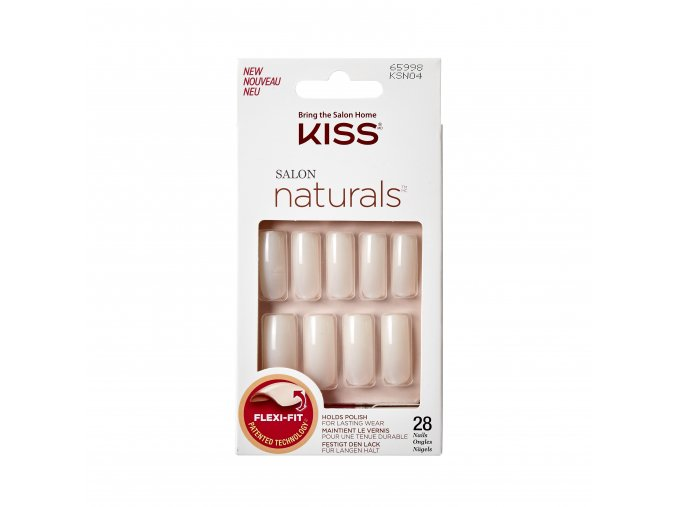 Kiss SalonNaturals KSN04C Package Front 731509659986