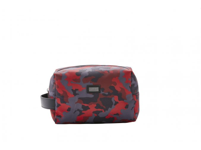 Kosmetická taška Camouflage red 61453
