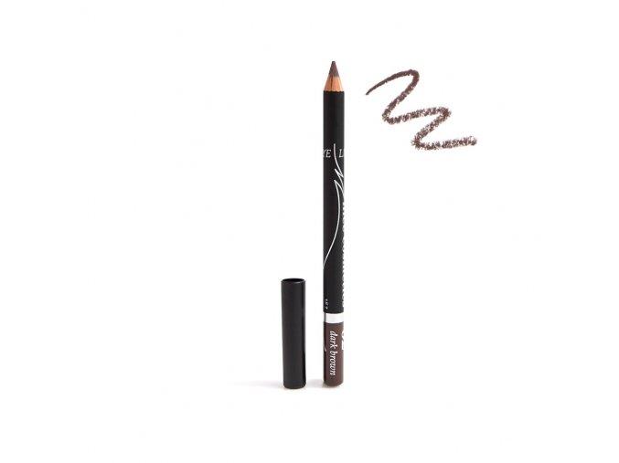 Konturovací tužka na oči Nice cosmetics 02 DARK BROWN