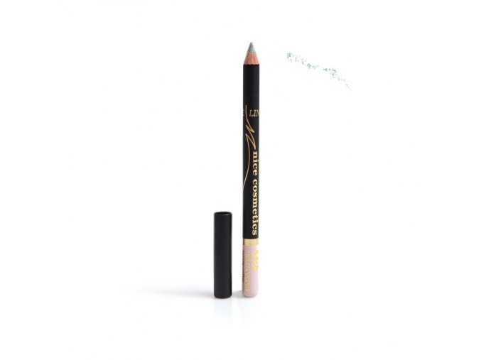 Konturovací tužka na oči Nice cosmetics s glitrem 05 MULTI COLOUR