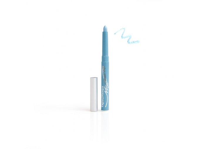 Oční stíny vysouvací v tužce Nice cosmetics 02 BABY BLUE