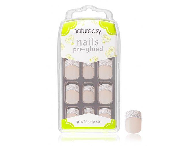 Nalepovací nehty NATUREASY s gelem č. 2
