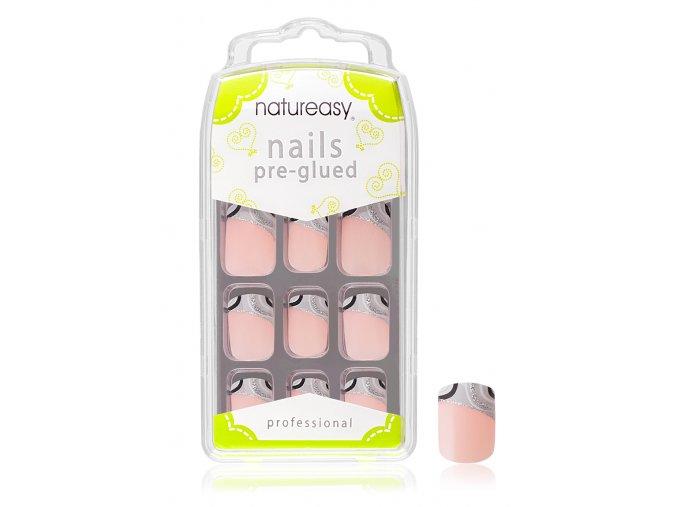 Nalepovací nehty NATUREASY s gelem č. 3