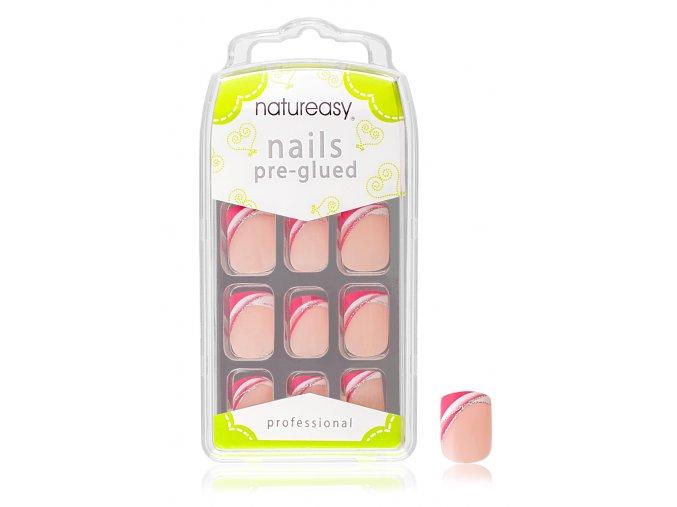 Nalepovací nehty NATUREASY s gelem č. 5