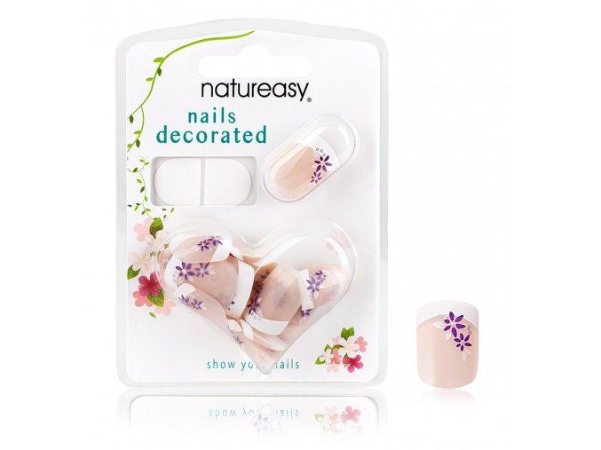 Nalepovací nehty NATUREASY se samolepícími papírky č. 15