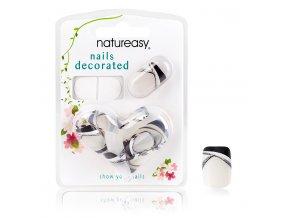 Nalepovací nehty NATUREASY se samolepícími papírky č. 2