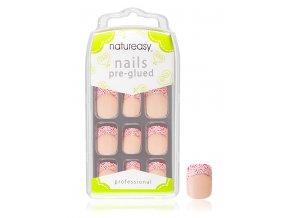 Nalepovací nehty NATUREASY s gelem č. 1