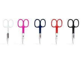 Nůžky na manikúru barevné, široké