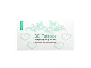 3D Bavlněné tetování č.1