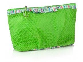 Kosmetická kabelka Thin felt zel 1
