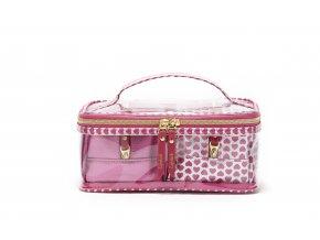 Sada kosmetických taštiček Trei pink 30038