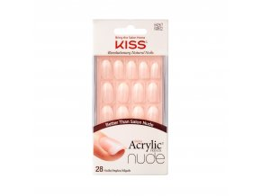 KAN02C Kiss SalonAcrylicNude Package Front 731509642674