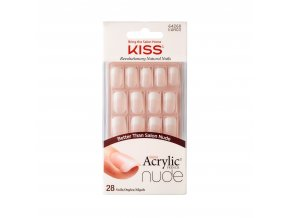 KAN03C Kiss SalonAcrylicNude Package Front 731509642681