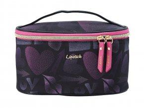 Kosmetický kufřík Lipstick Love 30045