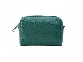 Kosmetická taška Croco green 75168