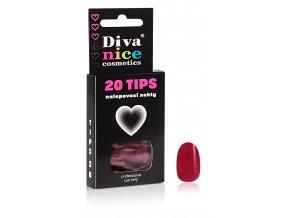 Nalepovací nehty TIPS 20 NEW barevné č. 4