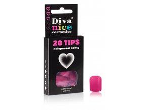 Nalepovací nehty TIPS 20 NEW barevné č. 8