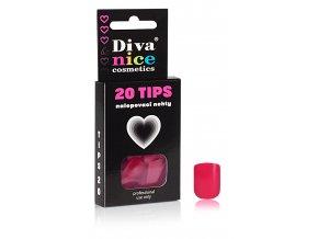 Nalepovací nehty TIPS 20 NEW barevné č. 9