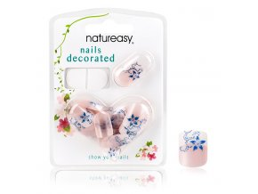 Nalepovací nehty NATUREASY se samolepícími papírky č. 1