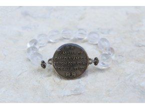 Náramek s amuletem Ho´oponopono - Křišťál