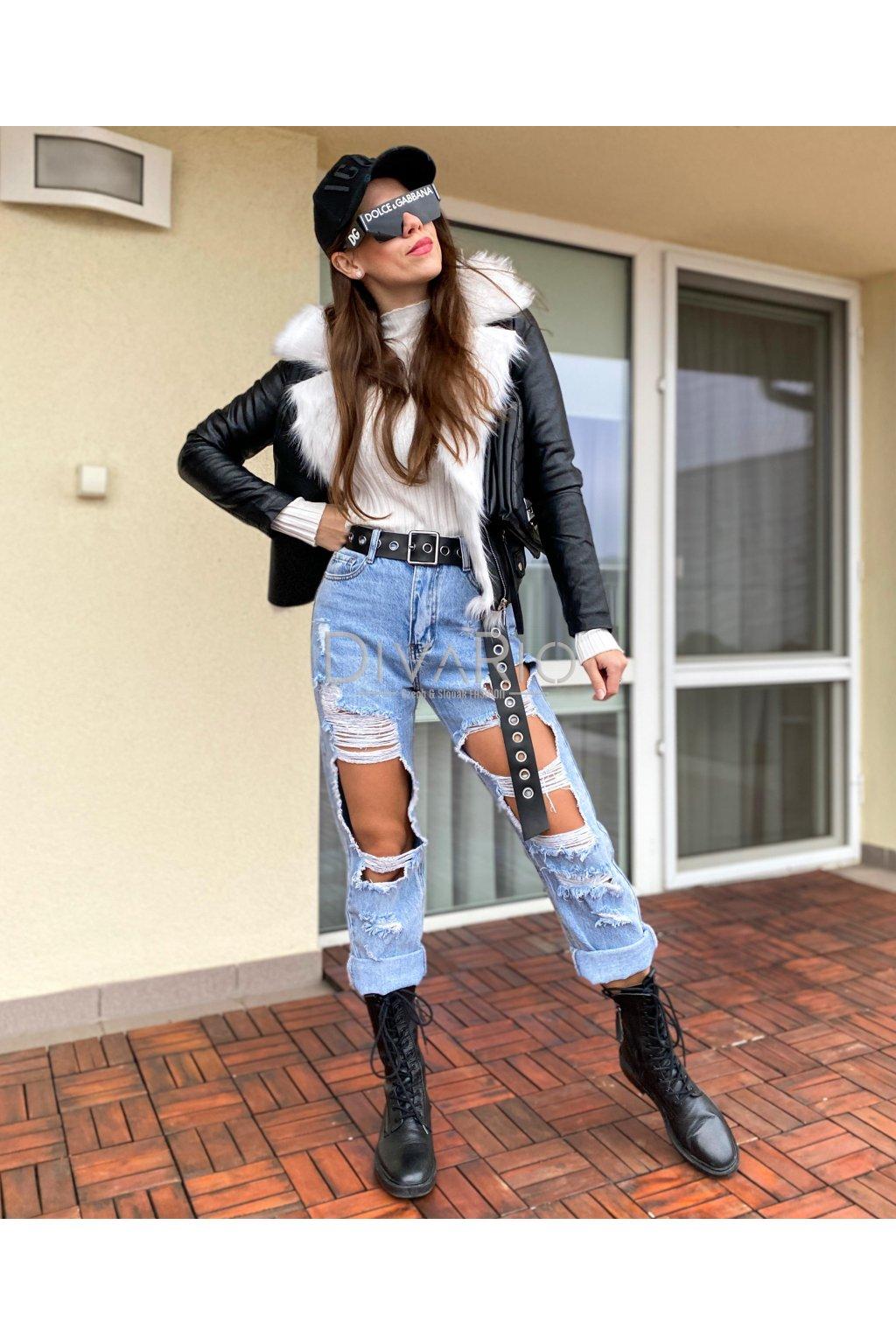 Fake Leather & White 5332