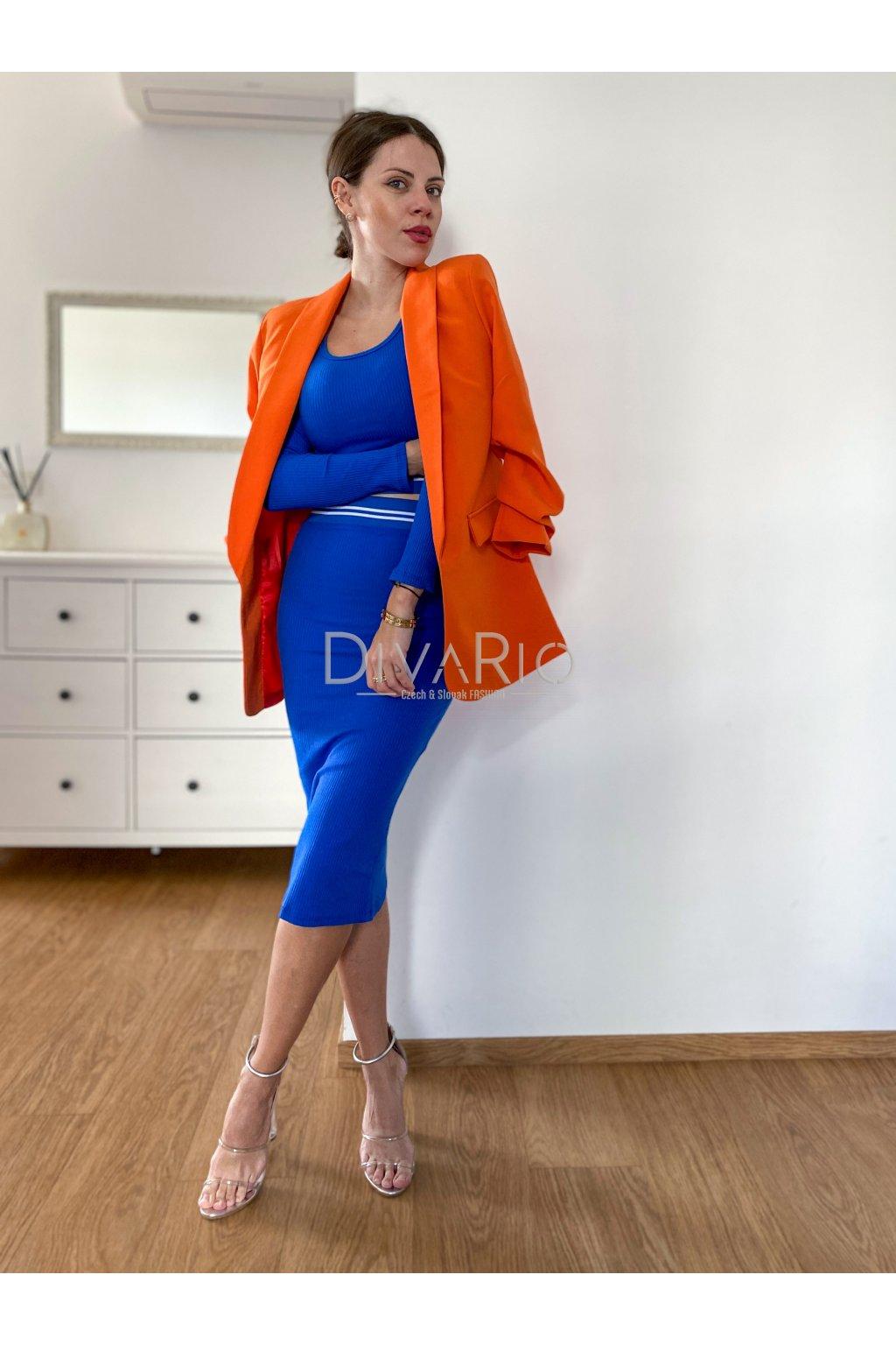 Orange Blazer 5351