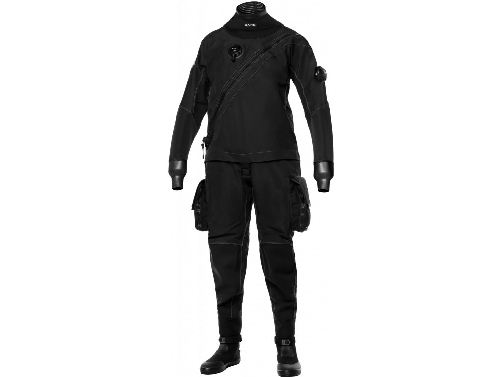 BARE XMissionEvoDrysuit Mens Black