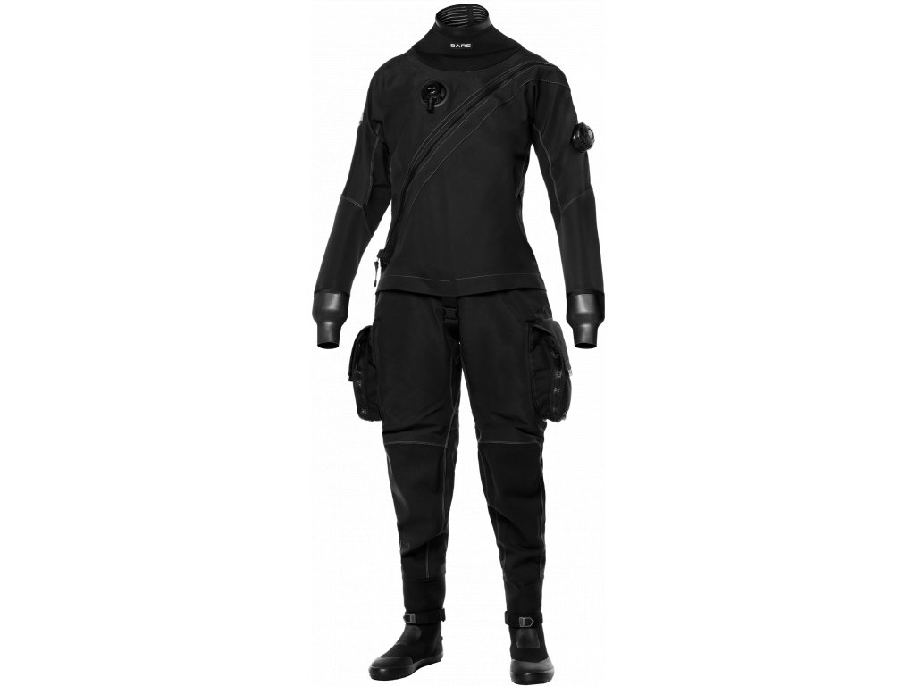 BARE XMissionEvoDrysuit Womens Black