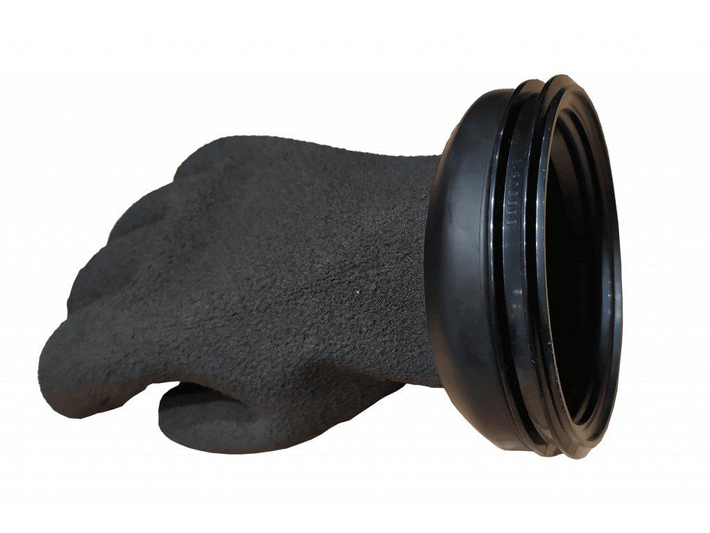 Rukavice CHECKUP RING SET GLOVES PRO 85 MM - černá (Velikost 2XL)