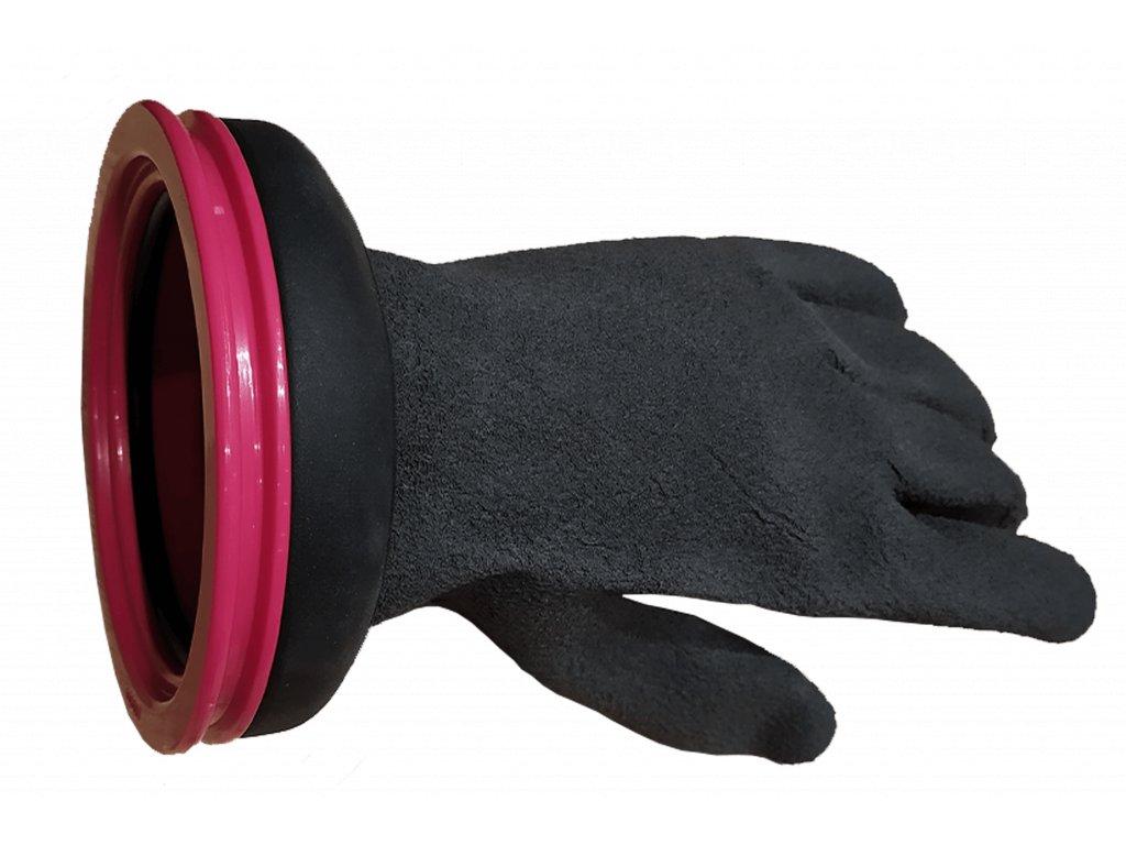 Rukavice CHECKUP RING SET GLOVES PRO 85 MM - růžová (Velikost 2XL)