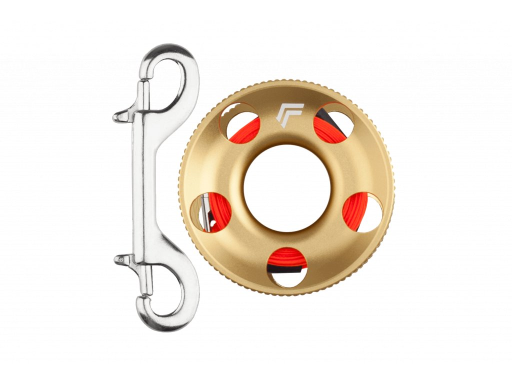 Merch Alu reel 15m Gold