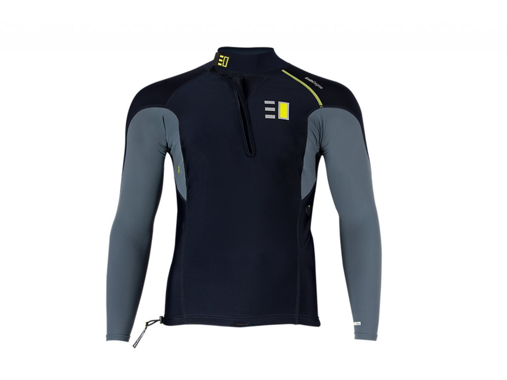 Pánské triko s dlouhým rukávem EnthDegree FIORD LS UV 50+ (Velikosti XL)