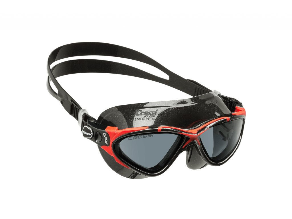 PLANET BLACK RED TINTED LENS