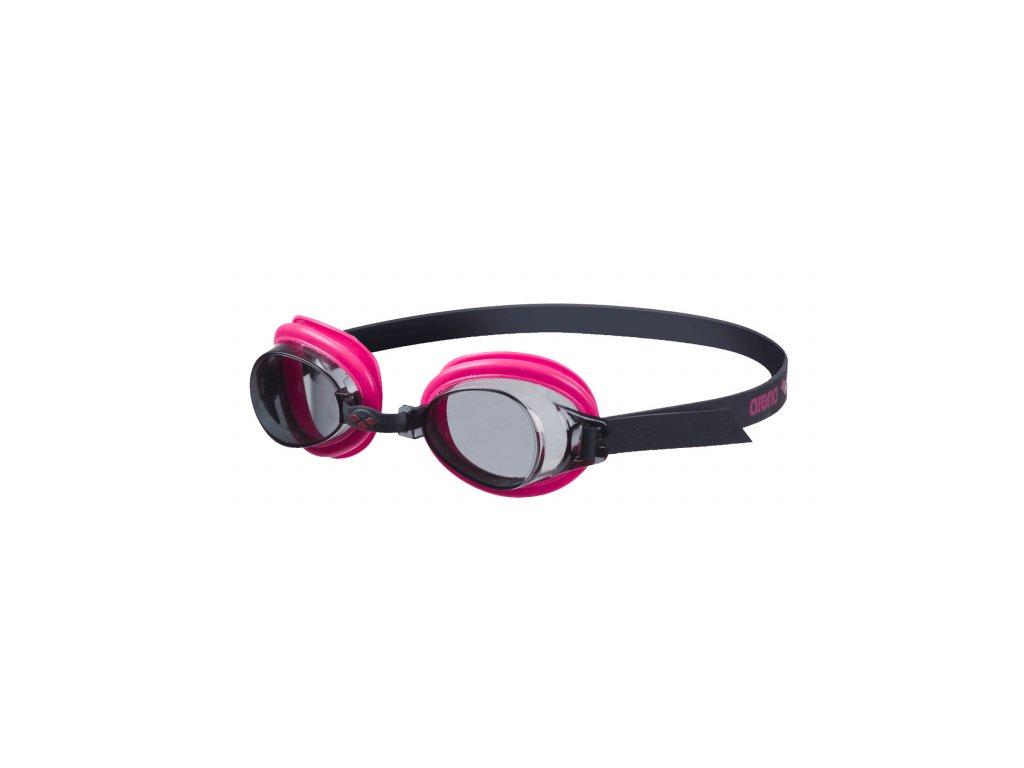 Dívčí plavecké brýle ARENA Bubble 3 Junior - černá/růžová