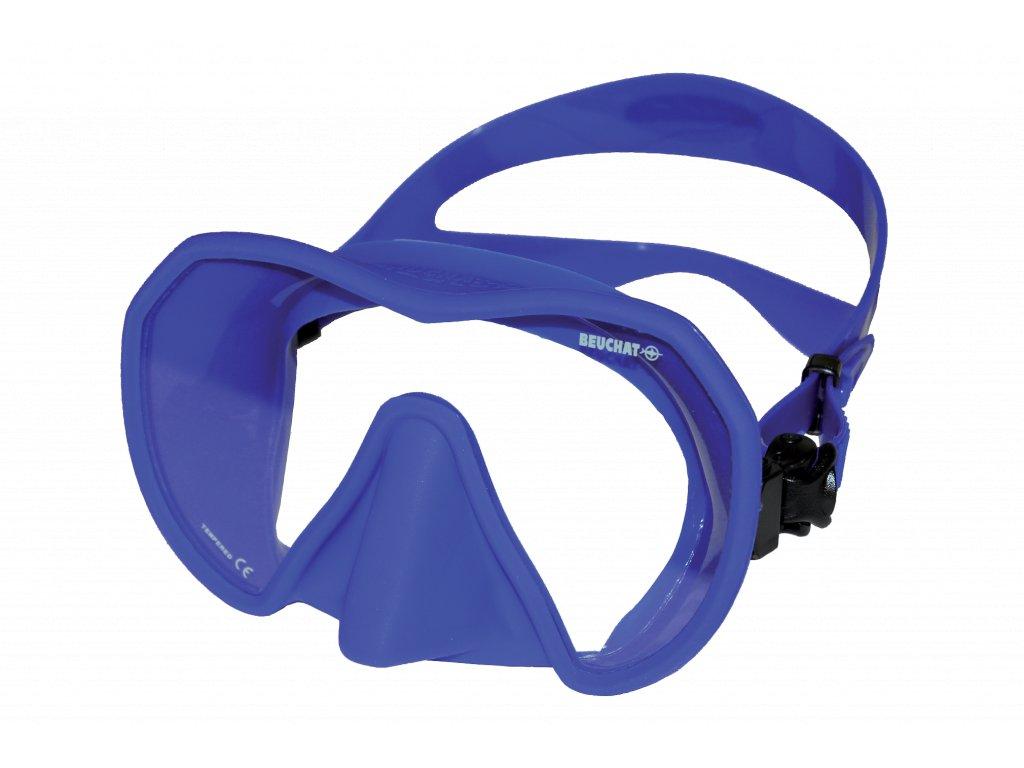 2481 maska beuchat maxlux s ultra blue modra