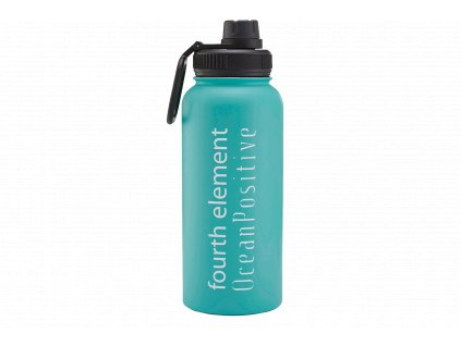 Gulper Water Bottle GWB02 Aqua Front copy