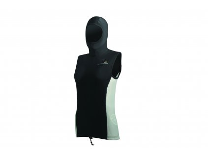 Multifunkční dámská vesta s kuklou LAVACORE (Velikost XL)