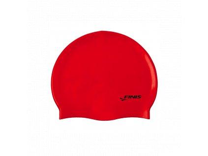silicone cap red