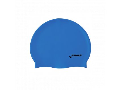silicone cap blue