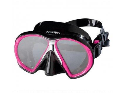 Maska Atomic Aquatics SubFrame Medium - černá/růžová
