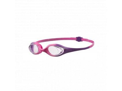 Dívčí plavecké brýle ARENA Spider Junior - fialová
