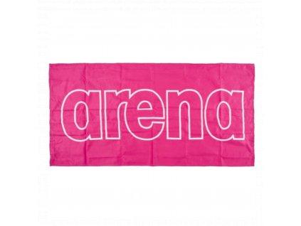 Rychleschnoucí ručník ARENA Gym Smart Towel - růžová
